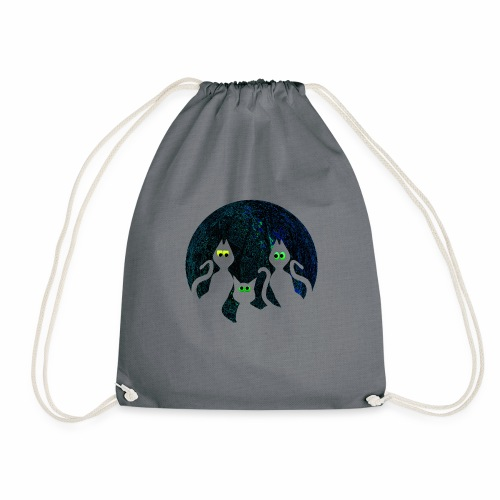 Spooky cats get Spooked - Drawstring Bag
