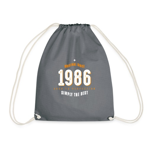 original since 1986 simply the best 30th birthday - Drawstring Bag