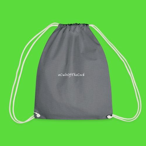 #CultOfTheCock White version. Womens Tee - Drawstring Bag