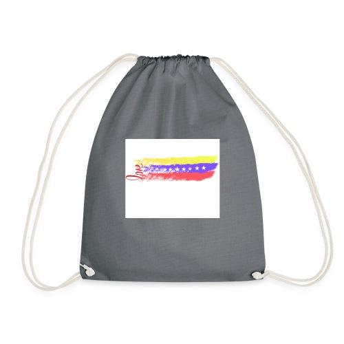 yo amo venezuela - Drawstring Bag