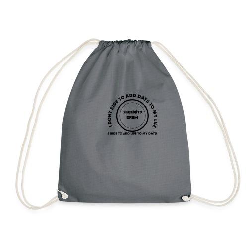 Serenity Crew Rider Quote - Drawstring Bag