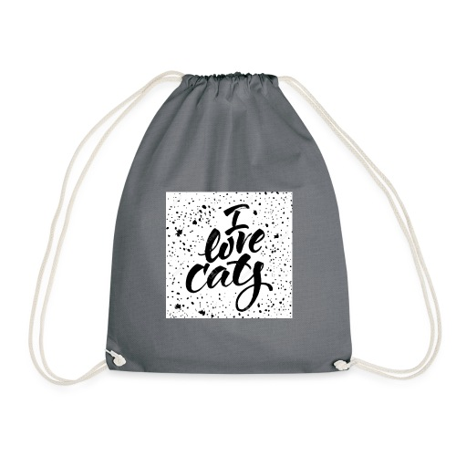 amo gatos - Mochila saco