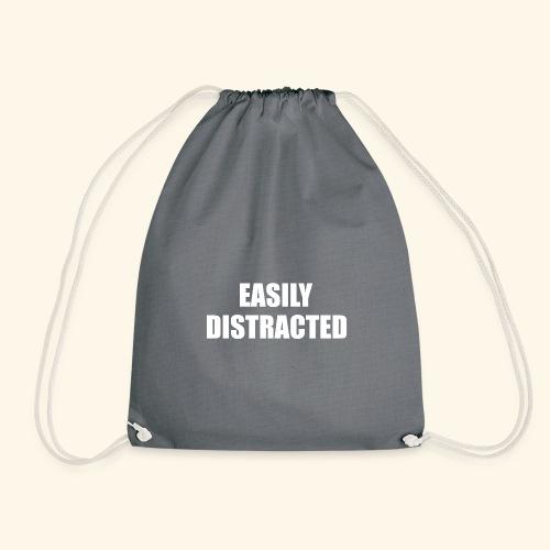 EASILY DISTRACTED - Drawstring Bag
