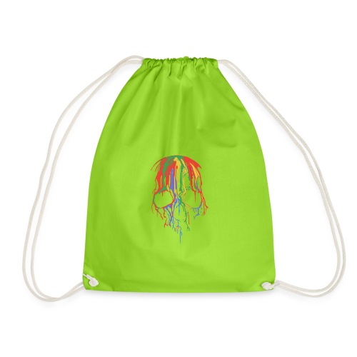 Skull and Colours - Mochila saco