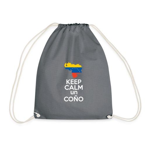 Keep calm Venezuela - Modelo Color y Blanco - Mochila saco