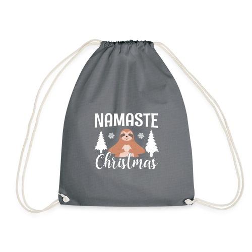 Namaste Christmas Lustig - Turnbeutel
