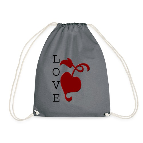 Love Grows - Drawstring Bag