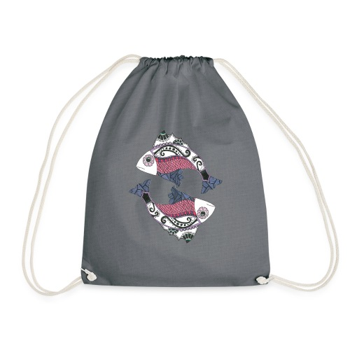 Pisces - Drawstring Bag