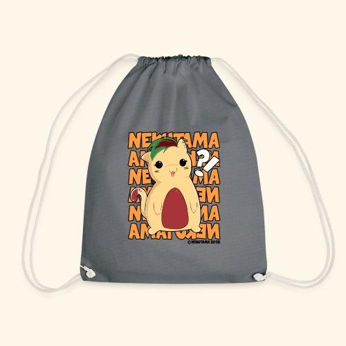 Nekutama Katze - Turnbeutel