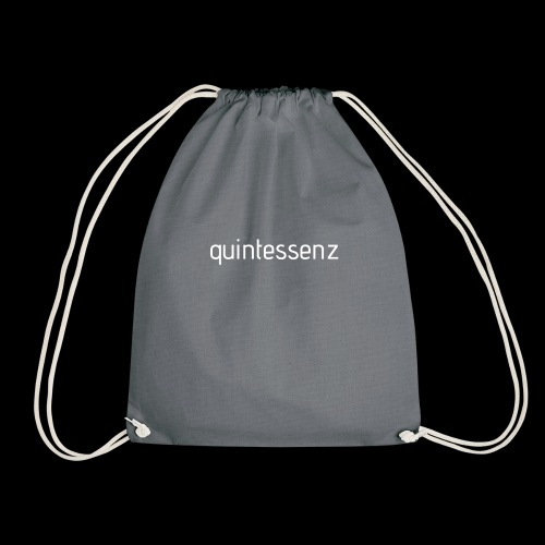 Quintessenz white - Turnbeutel
