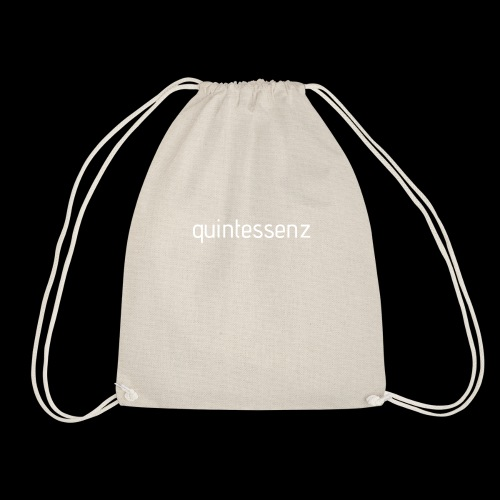 Quintessenz white - Turnbeutel