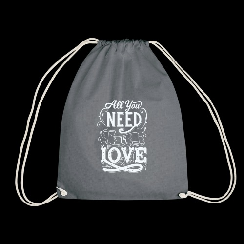 All You Need Is Love - Turnbeutel