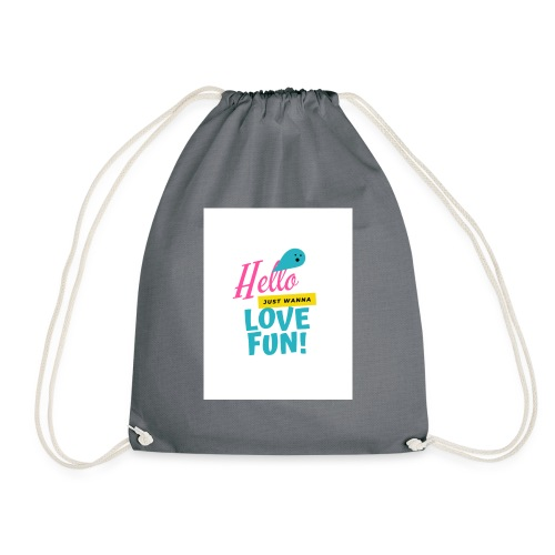 hello love fun - Sac de sport léger