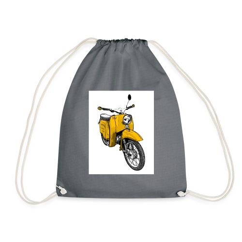 Die Schwalbenfahrer-Tasse (gelb) - Turnbeutel