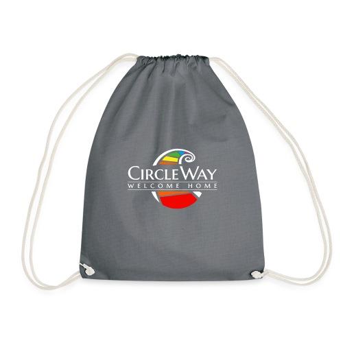 Circleway Welcome Home Logo – weiß - Turnbeutel