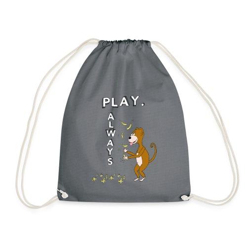 PLAY ALWAYS - JUGGLER MONKEY - Circus Lover - Sacca sportiva