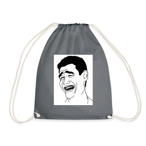 Yao Ming Face Bitch Please - Worek gimnastyczny