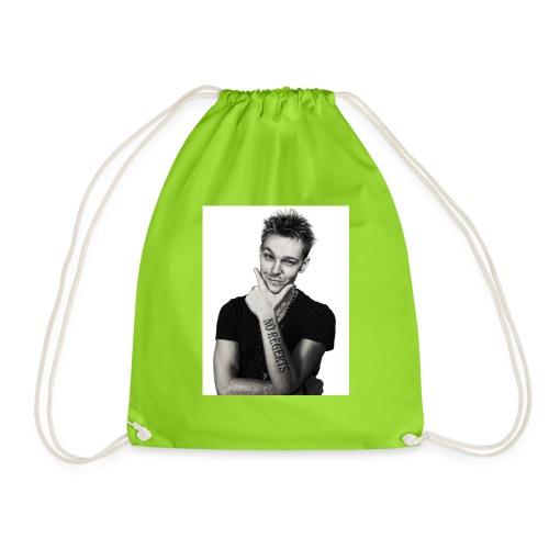 No Regerts - Drawstring Bag