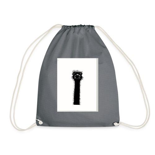 Ostrich - Drawstring Bag