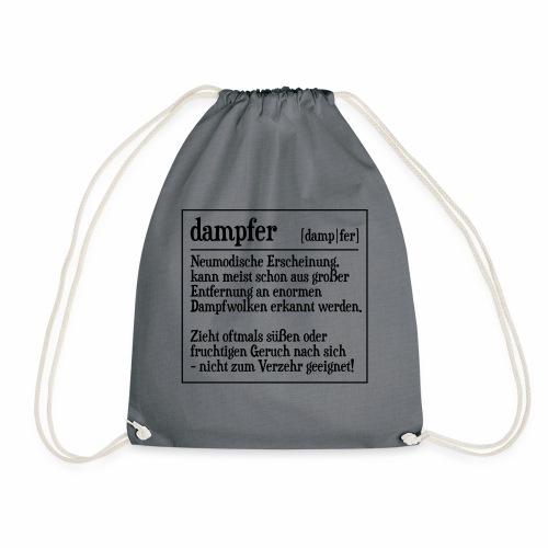Definition Dampfer - Turnbeutel