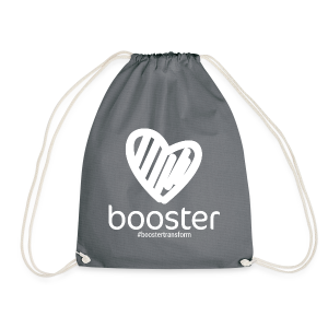 All White - Drawstring Bag