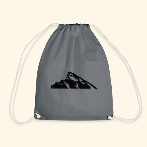 Snowy mountains - Drawstring Bag