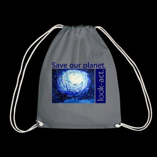 Save our planet. Unterwasserwelt. - Turnbeutel