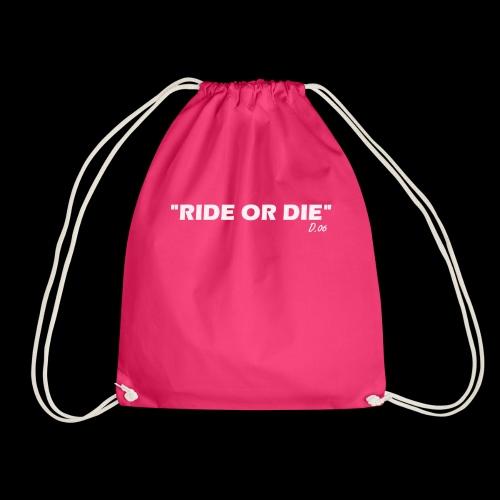 Ride or die (blanc) - Sac de sport léger