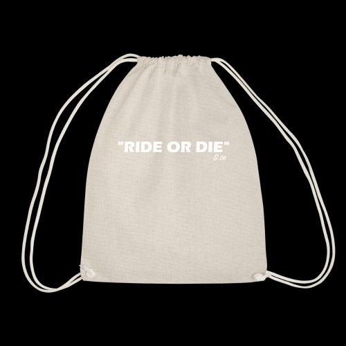 Ride or die (blanc) - Sac de sport léger