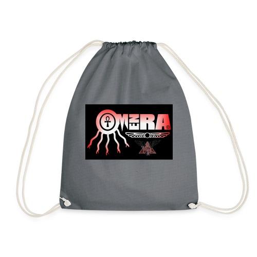 OMEN RA RED AND BLACK LOGO - Drawstring Bag