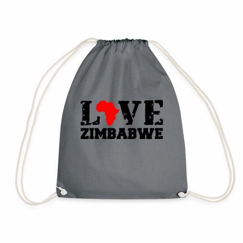 love zimbabwe - Drawstring Bag