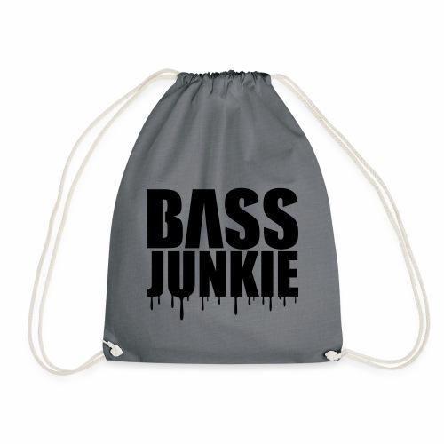 Bassjunkie Bass Music Musik Electro Festivals DJ - Turnbeutel