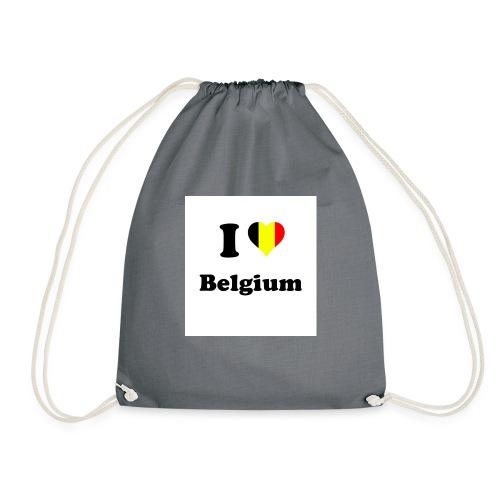 i love belgium - Gymtas