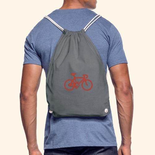 Rennrad, Race-Bike, Fahrrad - Turnbeutel