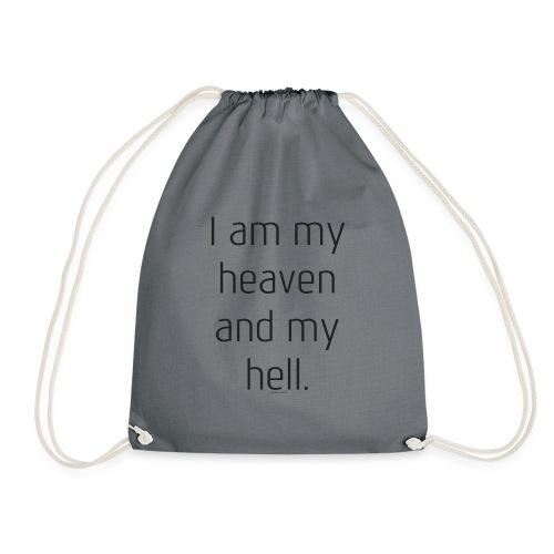 I AM MY HEAVEN AND MY HELL - Turnbeutel