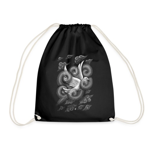 Crossing Clouds - Drawstring Bag