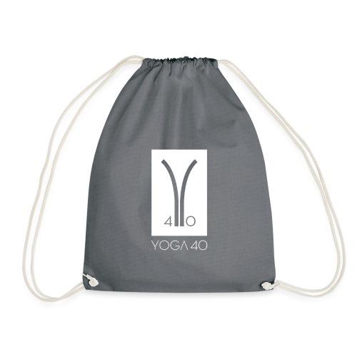 Y40 logotipo blanco - Mochila saco