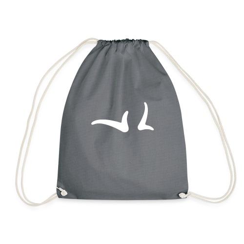 Logo White - Drawstring Bag