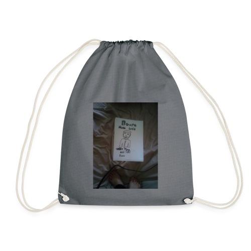 Boom shaka laka why you call the doctor - Drawstring Bag