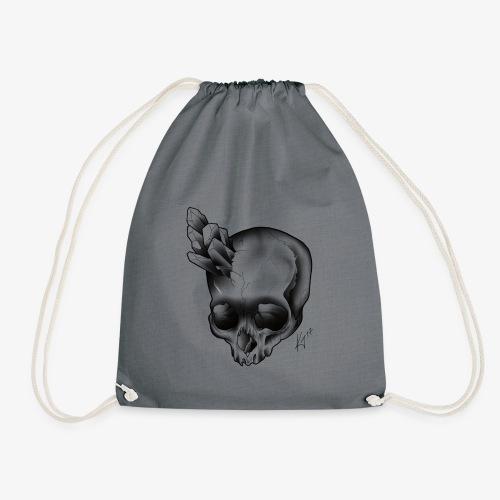 skull crystal - Drawstring Bag