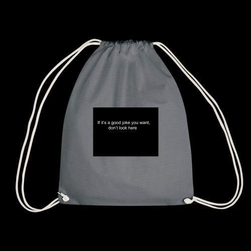 Untitled drawing 1 jpg - Drawstring Bag