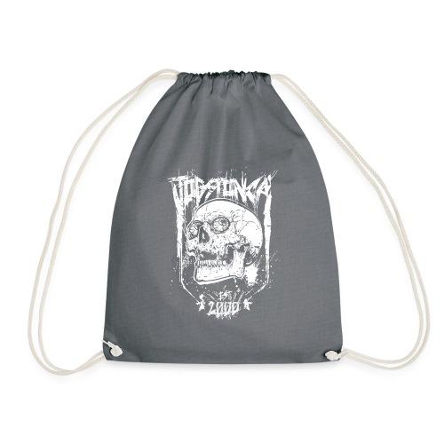 Jogstonica Skull White - Turnbeutel