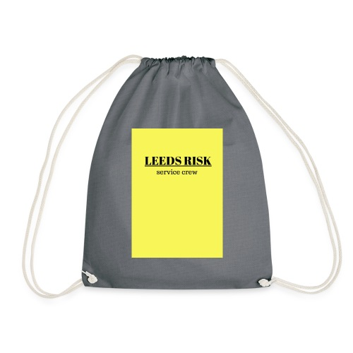 leeds risk - Drawstring Bag