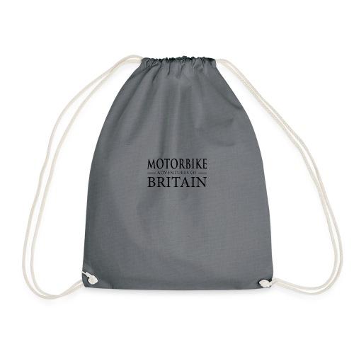 MotorBikeAdventuresBritain - Drawstring Bag