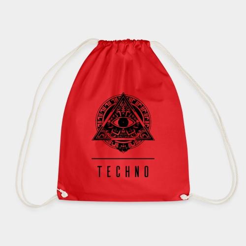 the EYE of TECHNO - Turnbeutel
