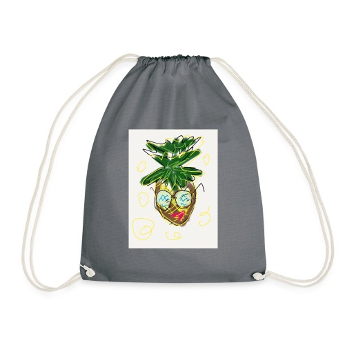 Crazy pineapple - Drawstring Bag