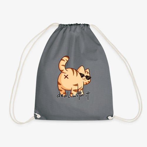 Deal with it! - Drawstring Bag