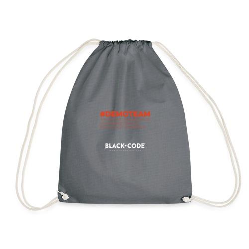 Black Code - Demoteam - Drawstring Bag