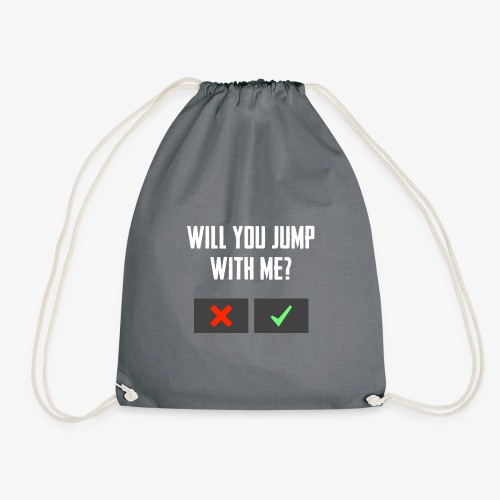 PUBG Will you jump with me? - Turnbeutel