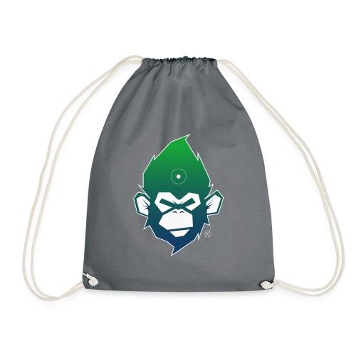 monkeyZ degrade bleu vert - Sac de sport léger